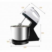 Professional Home Baking Mixer With 7 Speed Detachable Hand Blender