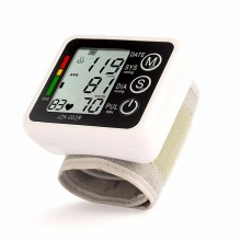 Health Care Automatic Wrist Digital Blood Pressure Monitor Home Use Measuring Pulse Rate