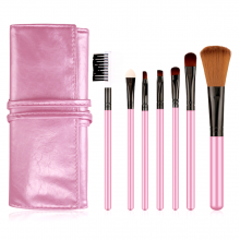 Professional 7 in 1 Make Up Brushes Set With Pouch
