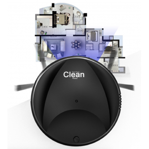 SMART HOME CLEAN Automatic Robot Vacuum Cleaner 2 in 1 Clean and Sweep