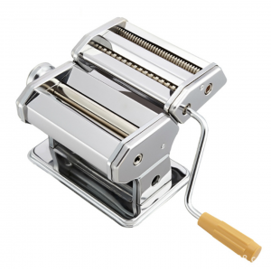 Stainless Steel 2-Blades Pasta Maker Pasta Machine Manual Noodle Maker Spaghetti 板面机