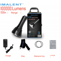 [Ready Stock] IMALENT MS18 World Brightest Torchlight 100000 Lumens Flashlight
