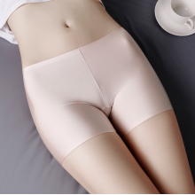 Super Cool Ice Silk Seamless Safety Pants Stretchy Underwear Seluar Keselamatan Celana
