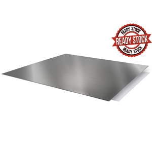 304 Stainless Steel Pastry Board Cutting Baking Mat for Dough Pastry Rolling Mat Kneading Board Papan Canai